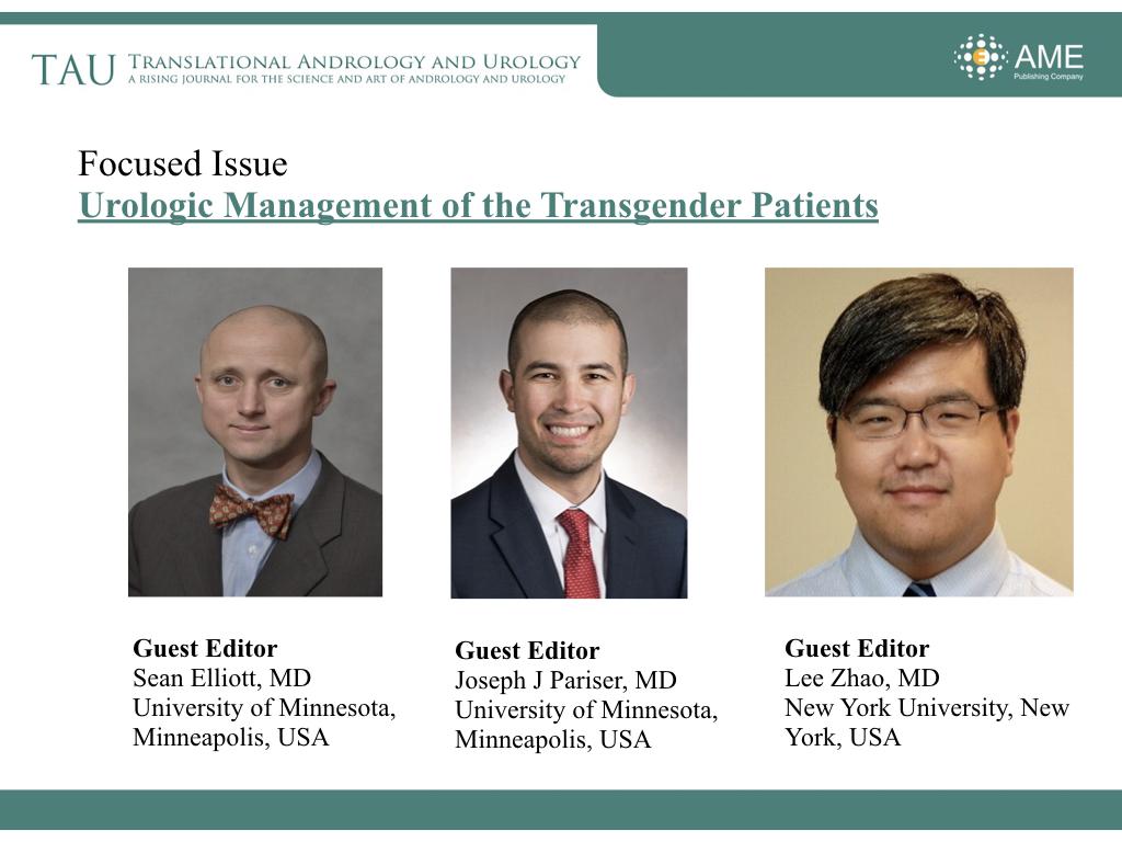 TAU Annual Report (2018) - Translational Andrology and Urology