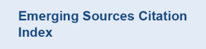 In Emerging Sources Citation Index (ESCI)